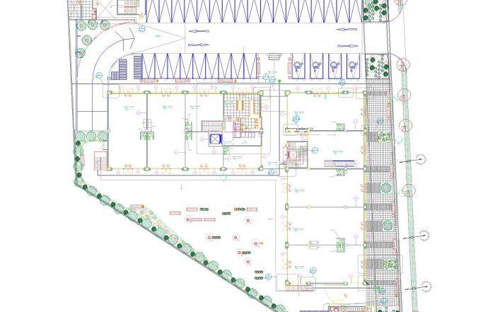 Diseño Strip Center Paseo La Cruz